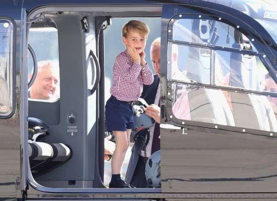 Принц Джордж сьогодні відзначає 8 років