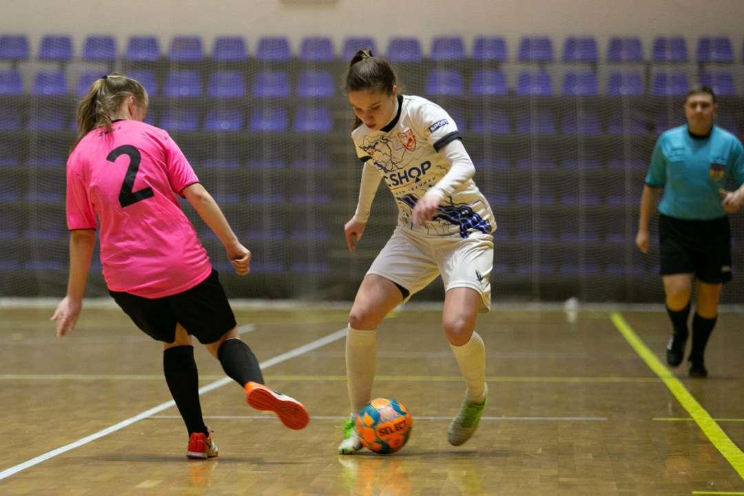 Определен календарь игр второго этапа женского чемпионата Украины по футзал