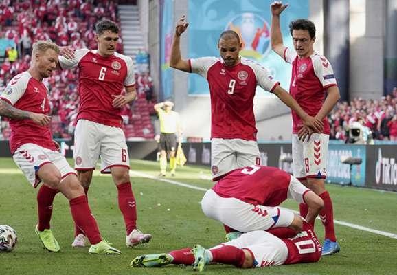 Кошмар на Евро-2020. Лидеру сборной Дании пришлось делать массаж сердца