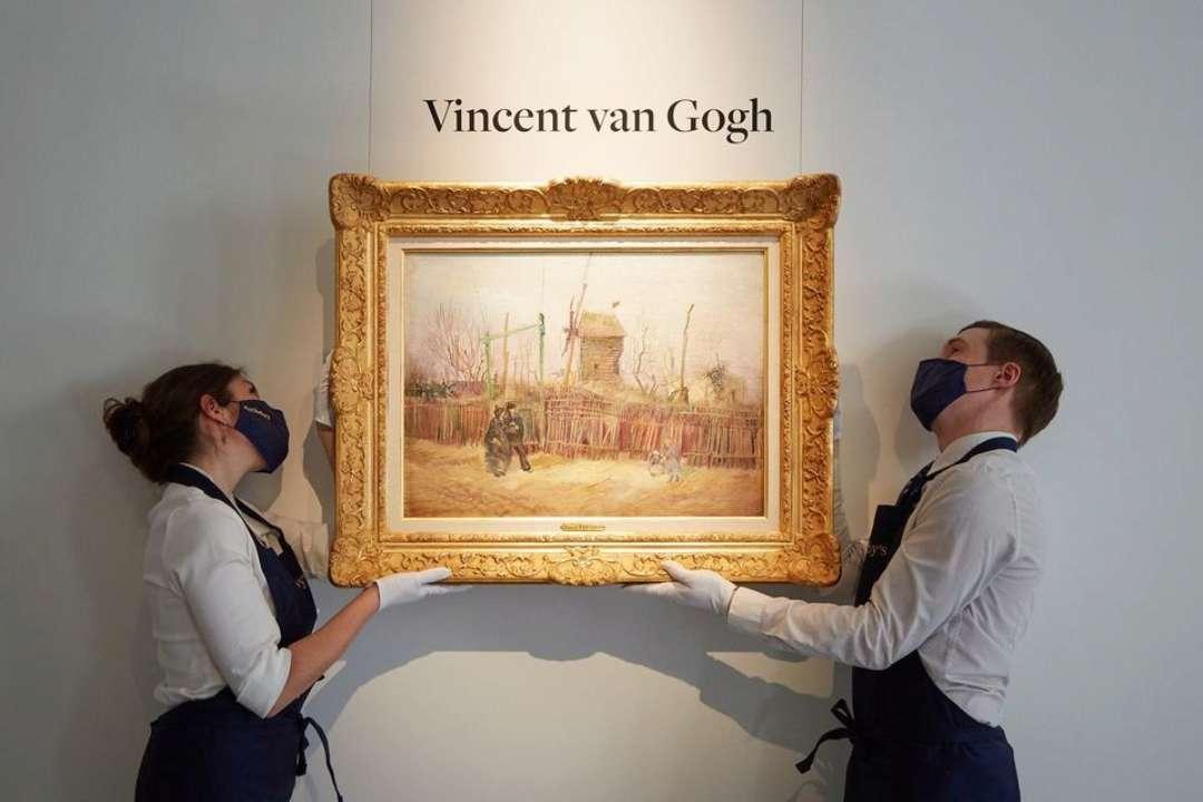 Картину Ван Гога продали на аукционе за рекордную сумму