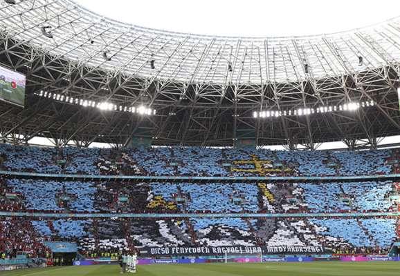 Повний стадіон і рекорди Роналду. Фотогалерея матчу Угорщина - Португалія