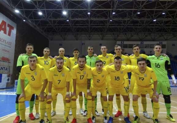 Стали известны соперники Украины по групповому этапу футзального Евро-2022