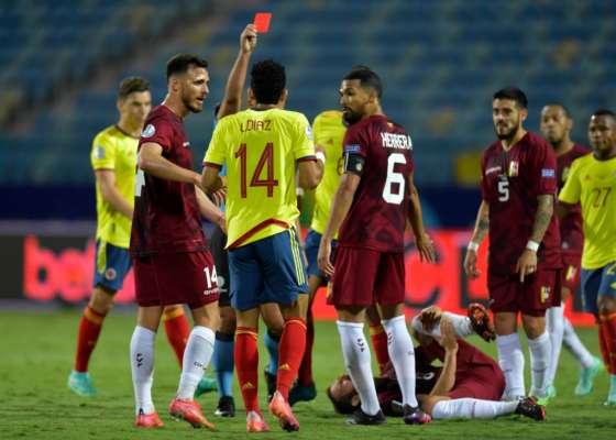Кубок Америки. Колумбія і Венесуела зіграли внічию