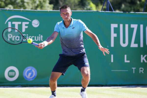 Стаховський вийшов у фінал парного розряду турніру в Нур-Султані