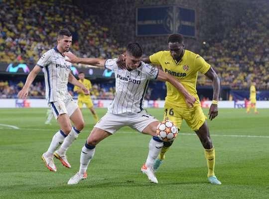 Аталанта Малиновського зіграла в нічию з Вільярреалом, Лілль і Вольфсбург голами не порадували