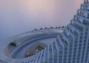 Ніби з фантастичного фільму: на Занзібарі збудують вражаючий хмарочос