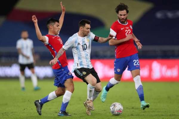 Аргентина - Чилі - 1:1. Огляд матчу і відео голів
