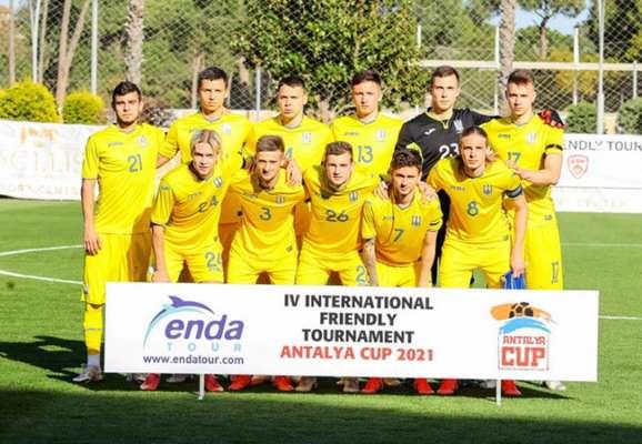 Украина U-21 вела 2:0, но все равно проиграла Словакии