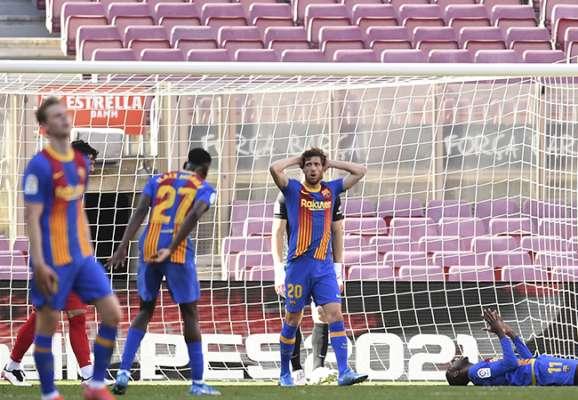 Торжество оборонительного футбола. Барселона и Атлетико голов не забивали