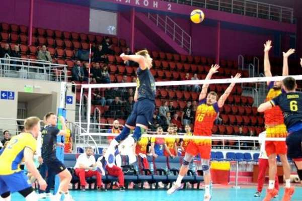 Сборная Украины по волейболу досрочно вышла в Финал четырех Золотой Евролиги