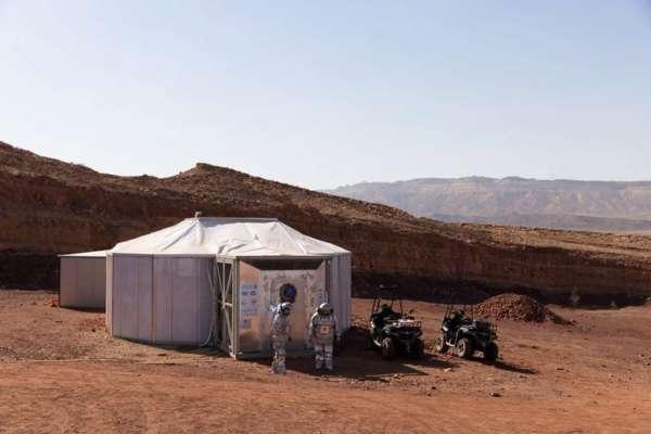 В пустыне в Израиле создали симулятор базы на Марсе. Там будут жить астронавты