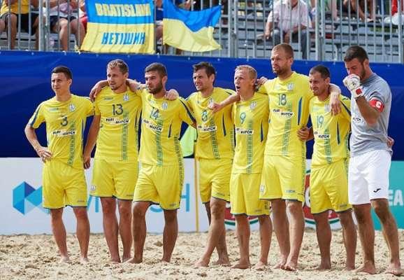 Украина уступила Испании в финале отборочного турнира на ЧМ по пляжному футболу