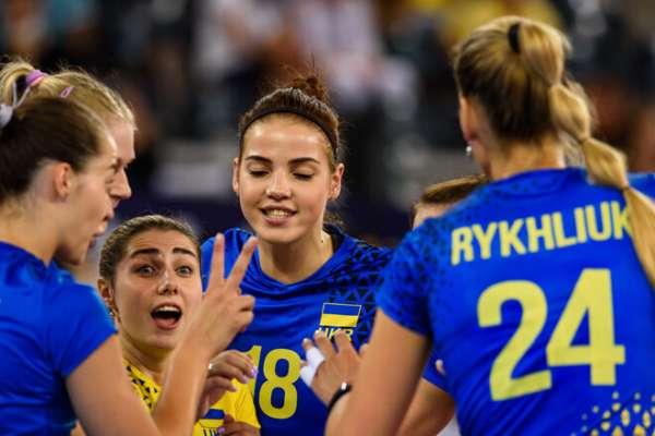 Чемпіонат Європи. Україна в трьох сетах перемогла Швецію