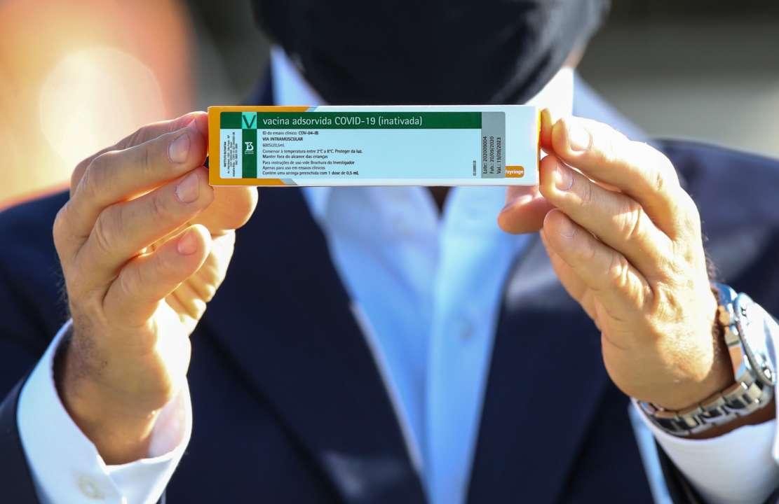 В МОЗ повідомили, коли почнуть робити щеплення китайською вакциною CoronaVac