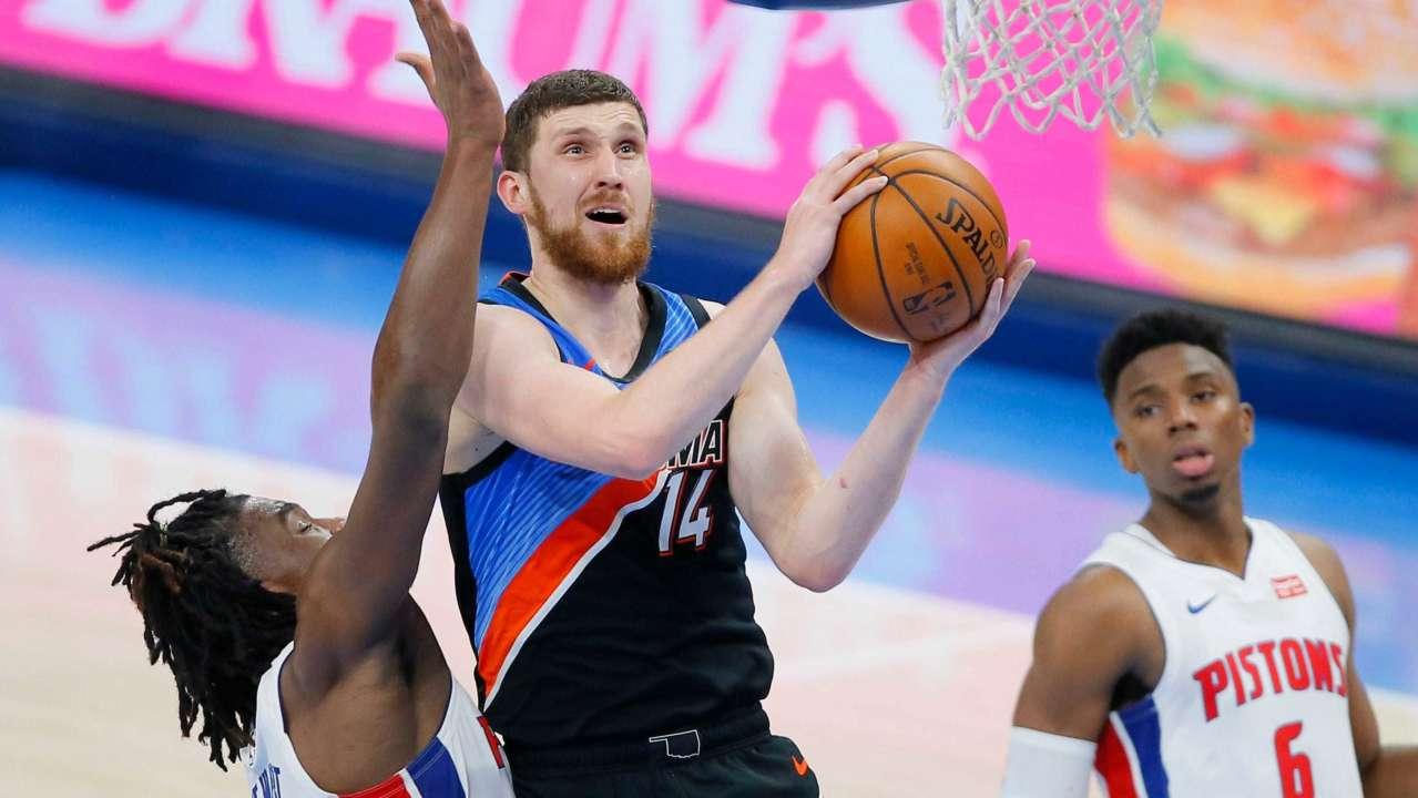 П'ятий українець в історії. Михайлюк набрав 1000 очок в НБА