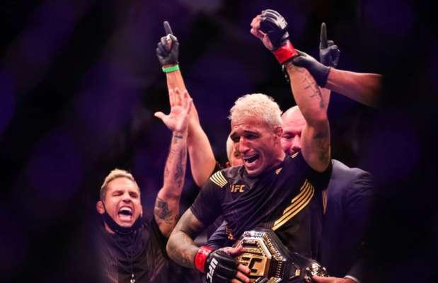 Чарльз Олівейра нокаутував Чендлера і став новим чемпіоном UFC