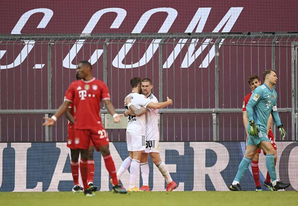 Баварія напіврезервом не обіграла Уніон, Айнтрахт майже позбавив Дортмунд шансів на топ-4