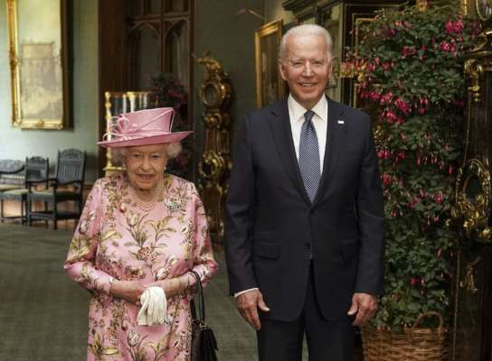 Джо Байден рассказал о встрече с Елизаветой II