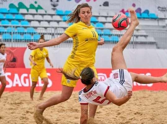 Знову невдача. Українки поступилися Швейцарії в рамках Євроліги з пляжного футболу