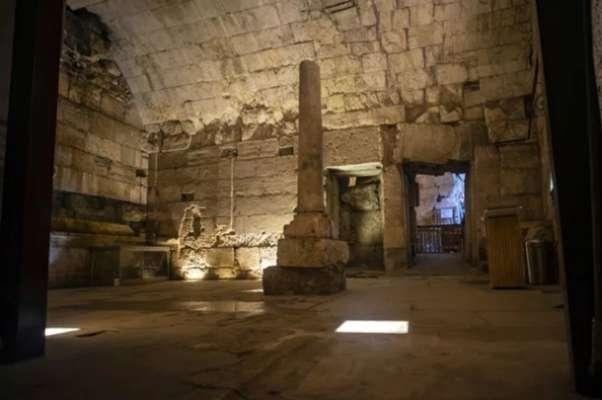 Под Стеной Плача в Израиле нашли столовую для римской элиты. Фото