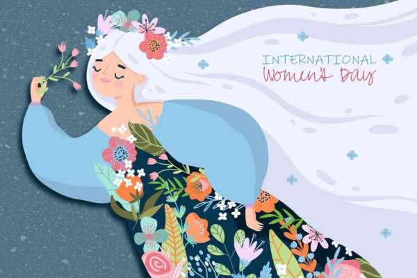 Зеленский поздравил украинок с международным женским днем