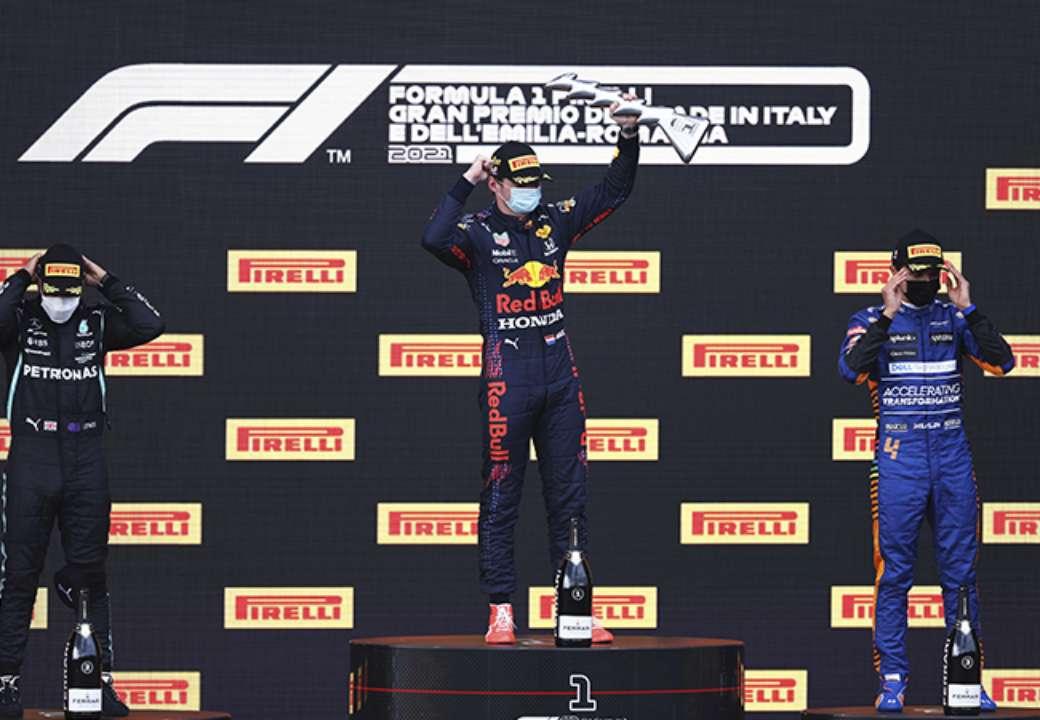 Ферстаппен триумфовал на Гран-при Эмилии-Романьи