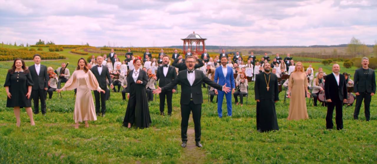 """Впервые в мире: звезды шоу-бизнеса сняли клип на песню """"Христос Воскрес"""""""
