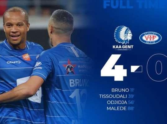 Справились без Яремчука и Безуса. Гент уверенно победил Волеренгу в матче Лиги конференций