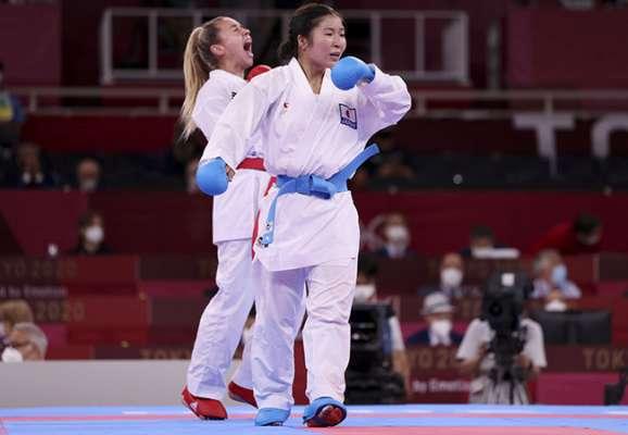 Минимум серебро! Терлюга вышла в финал Олимпиады!