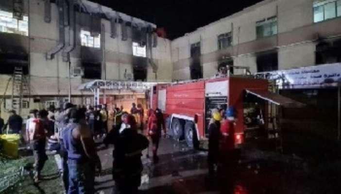 В іракській лікарні для хворих на COVID-19 сталася пожежа