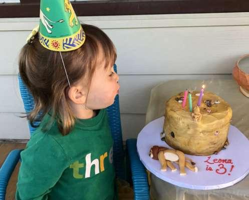 """дівчинка замовила на свій день народження торт зі смертю Муфаси з """"Короля Лева"""""""