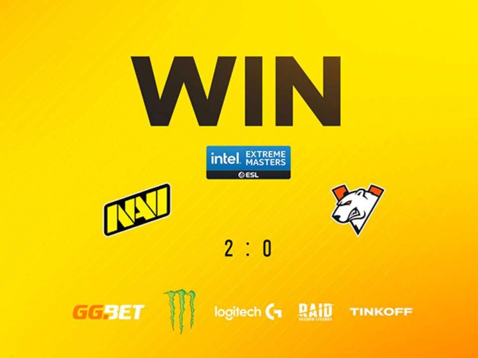 NAVI розбили Virtus.pro на IEM Katowice 2021