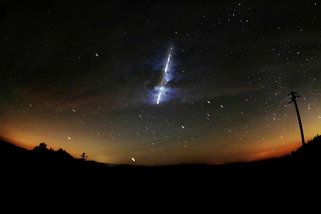 В апреле пройдет два ярких звездопада