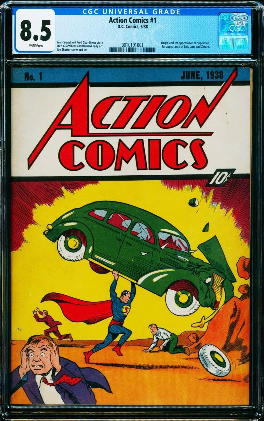 Перший випуск коміксу про Супермена
