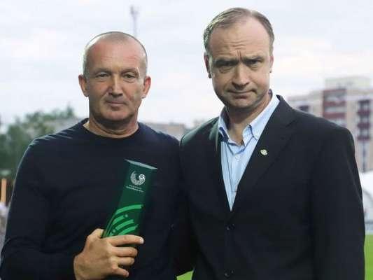 Роман Григорчук - найкращий тренер чемпіонату Білорусі в травні