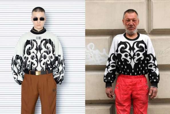 Модний французький бренд одягу при створенні нової колекції надихнувся образами безхатька зі Львова