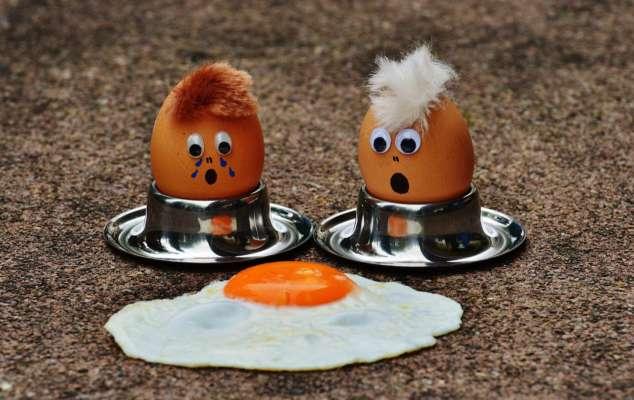 Корисні властивості яєчні та омлету