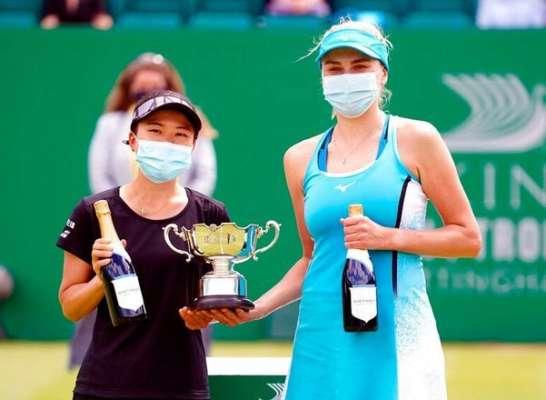 Людмила Кіченок у парі з Макото Ніномією виграла парний розряд турніру в Ноттінгемі