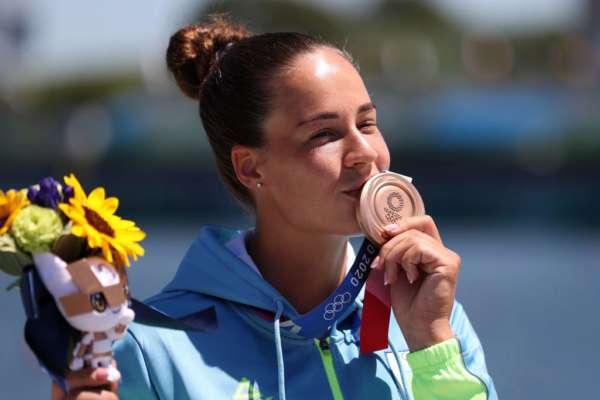 Людмила Лузан здобула бронзу в каное