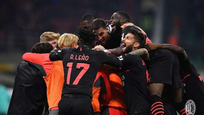 Милан совершил камбэк в матче с Вероной и вышел на первое место в Серии А