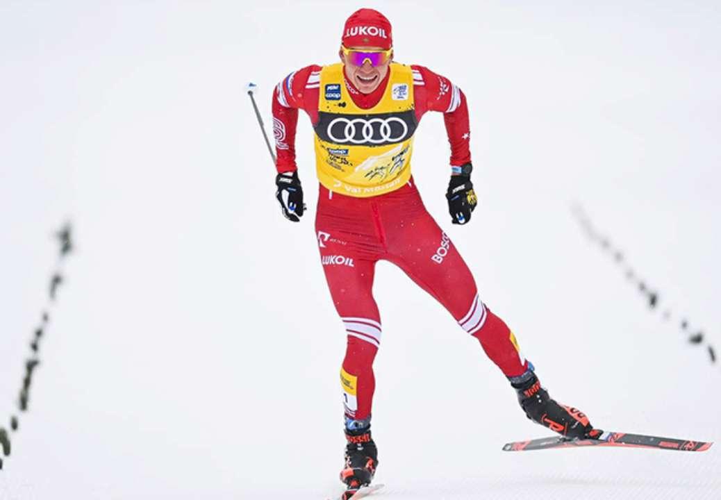 Большунов зробив золотий дубль на етапі Кубка світу в Фалуне