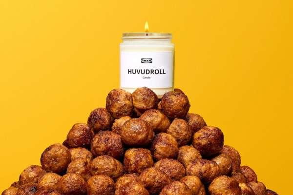 IKEA выпустила свечу с ароматом фрикаделек