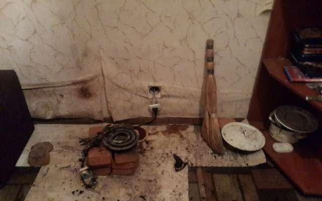 В Харькове пьяный мужчина упал на обогреватель и сгорел заживо