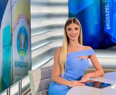 Украинская красавица будет работать ведущей на Евро-2020. Фото