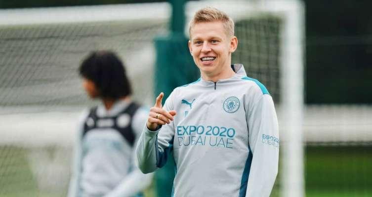 Зинченко вернулся в общую группу Манчестер Сити