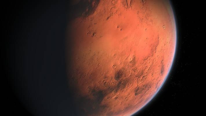 Фото дня: марсохід Curiosity зафіксував рідкісне явище на Червоній планеті