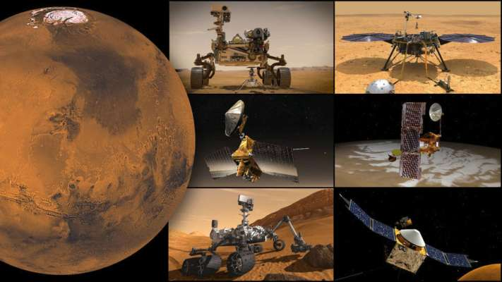 Марсианские аппараты