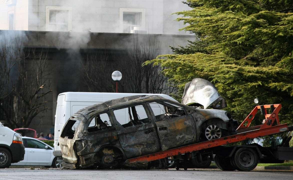 На Донбасі вибухнув автомобіль