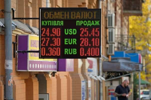 Табло з курсом валют